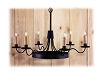 Vernon Hall Wrought Iron Chandelier