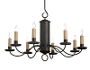 Treyburn Wrought Iron Chandelier