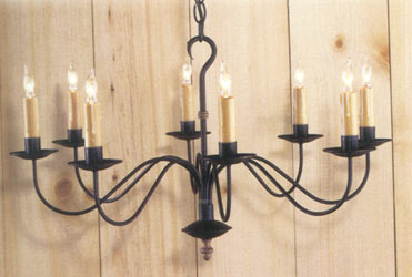Oakham Wrought Iron Chandelier