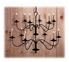 Torrington Wrought Iron Chandelier