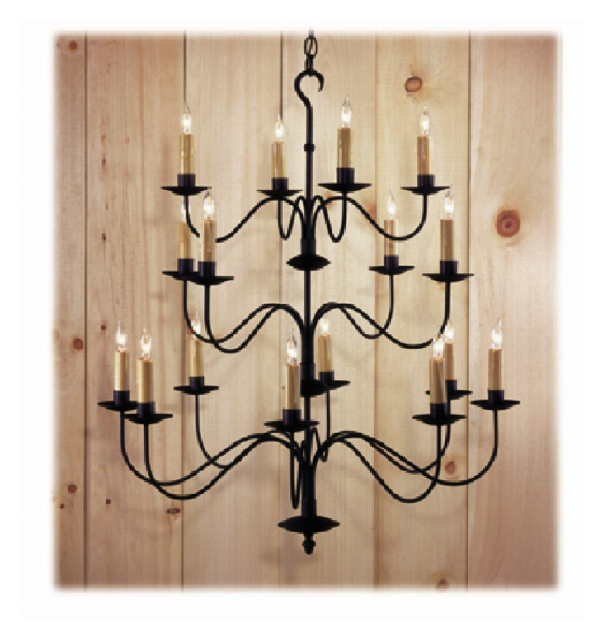 Toddington Wrought Iron Chandelier