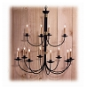 Tanglewood Wrought Iron Chandelier