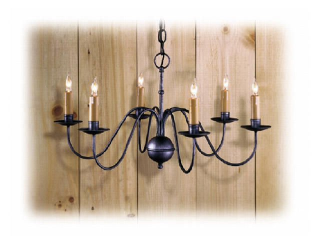 Stoney Creek Wrought Iron Chandelier