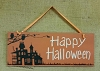 Sign - Happy Halloween House
