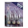 Electric Candle Bulbs - 7 watts - 3 pieces