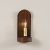 Fireplace Tin Sconce Rustic Tin Finish