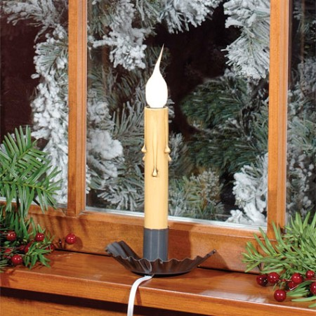 COUNTRY TIN electric crimped window sill light