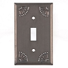 Punched Tin Switchplates & Outlet Covers