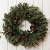 Wreath - Evergreen and Pinecone