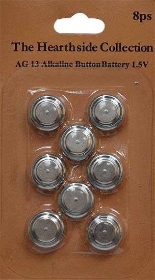 AG13 Batteries For Our Tealights