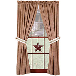 Homespun Curtain Panels