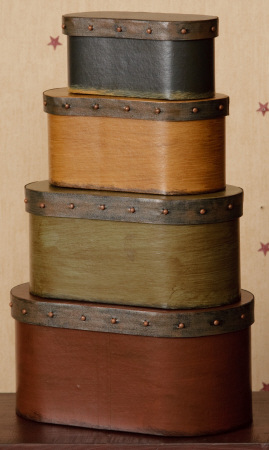 Nesting Boxes - Decorative Band