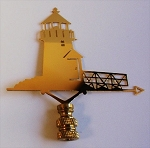 Lighthouse Lamp Finial