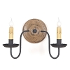 Electric Wood Sconces