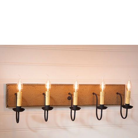 Five Arm Vanity Lights