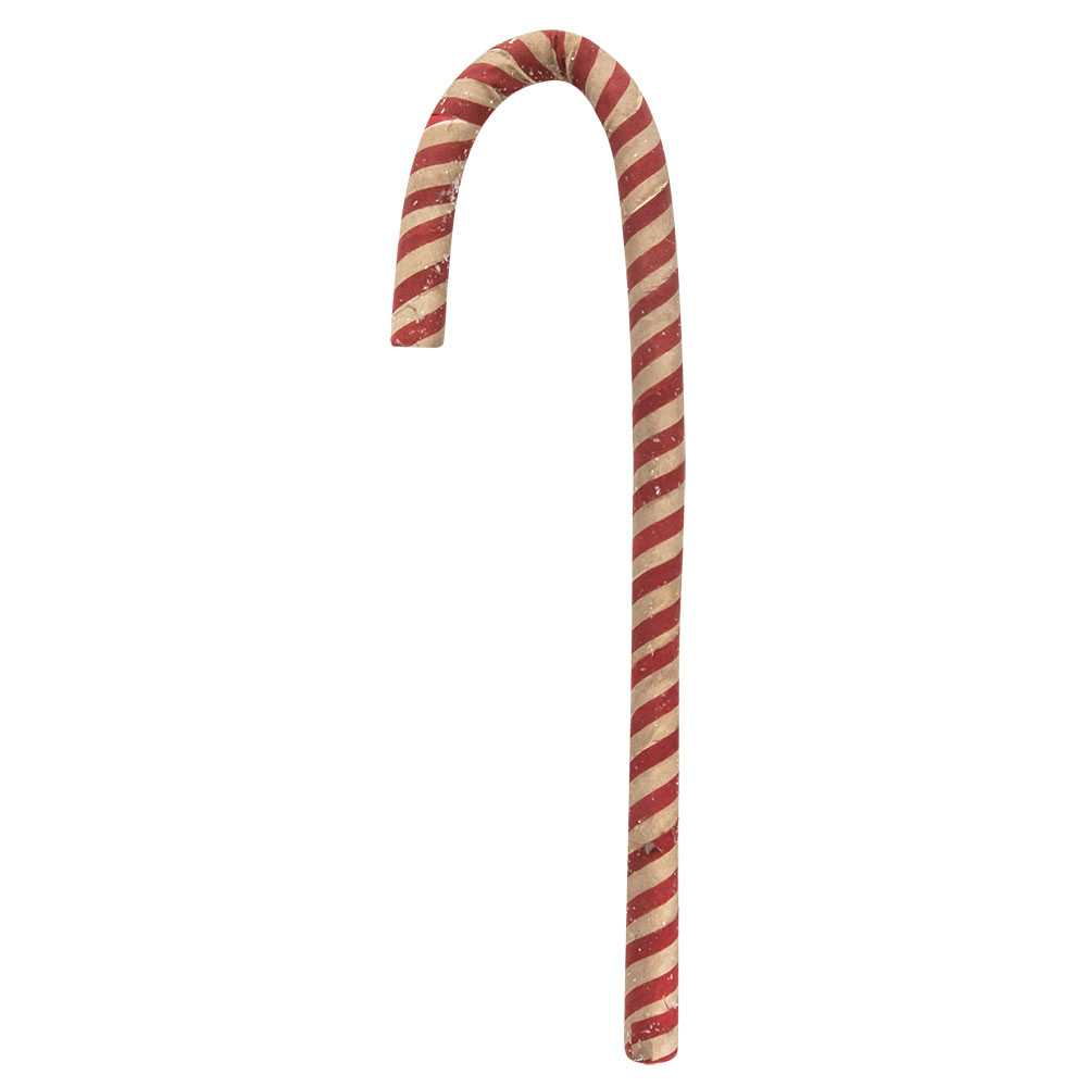 Antique Sparkle Candy Cane - 12