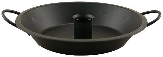 Colonial Taper Holder - Black