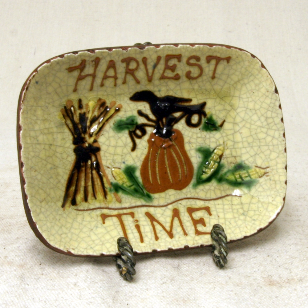 Small Harvest Time Plate