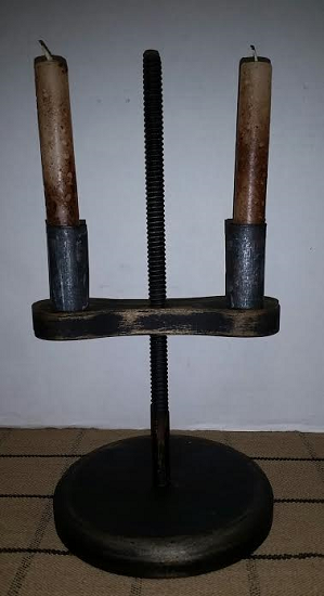 Black Wooden Table Light
