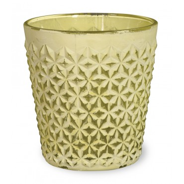 Milk Paint Tealight - Yellow