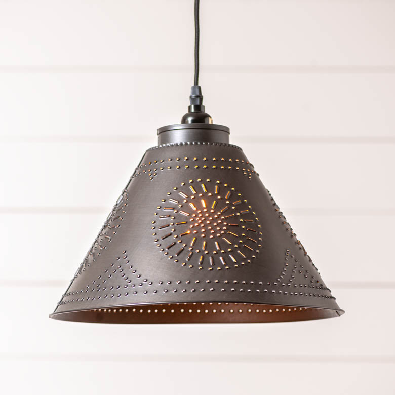 Barrington Pendant in Kettle Black