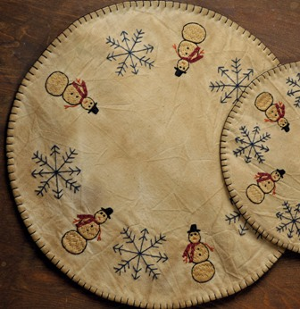 WINTER WONDERLAND CANDLE MAT