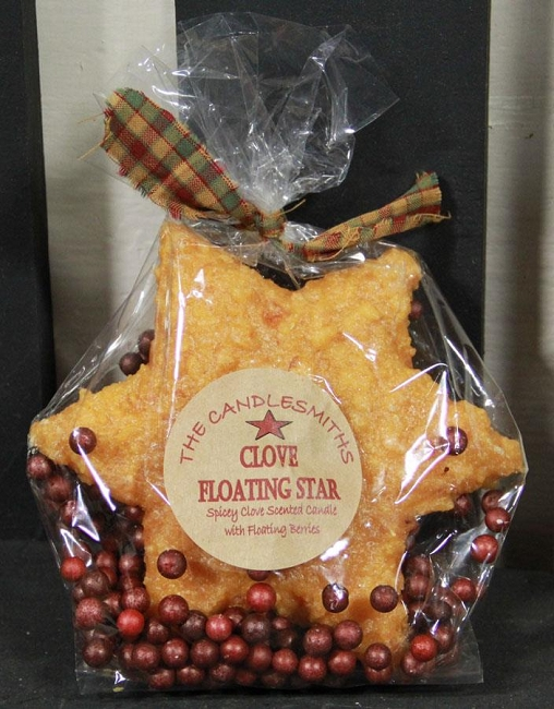 CLOVE FLOATING STAR CANDLE