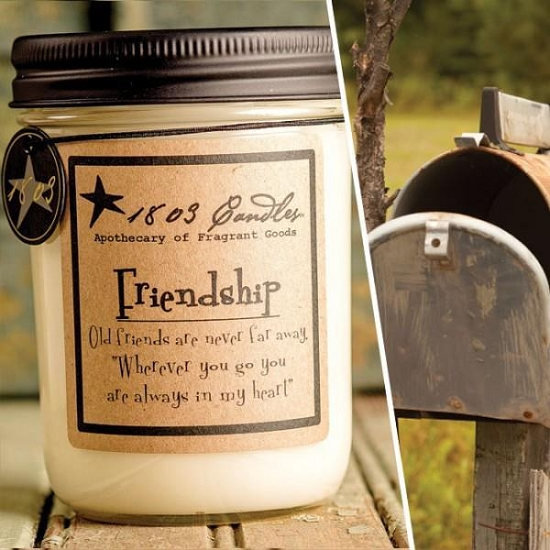 Friendship Soy Candle