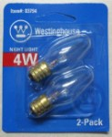 4 Watt Nightlight Bulb