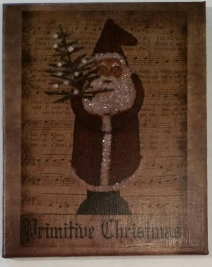 Primitive Christmas 8x10