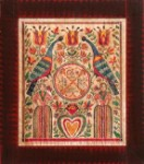 Give Love Fraktur by Susan Daul