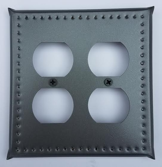 Tin Double Outlet Cover Border Punch