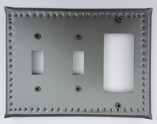 Tin Double Switch/Single Ground Fault Border Punch