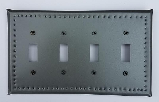 Tin Quad Switchplate Border Punch