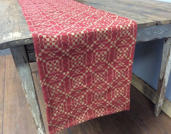 OAKFORD GLEN RED/TAN LONG RUNNER