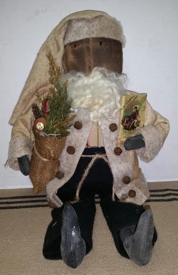 Santa with Burlap Sack