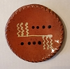 Small Round Redware Plate