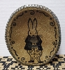 Oval Plate with Bunny