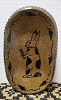 Oval Plate with Bunny Holding Carrot