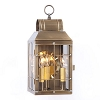 Martha's Wall Lantern Weathered Brass