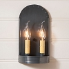 Arch Sconce in Country Tin