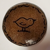 Chick Stoneware Mini Plate