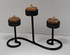 SCROLL STANDING TEALIGHT HOLDER