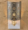 Tin Star Punched Night Light