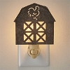 Barn Night Light - Galvanized