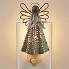 Galvanized Angel Night Light