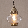 Brass Onion Pendant Light