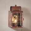 Small Wall Lantern Antique Copper