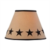 Black Star Embroidered Shade - 10
