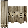 Farmstead Star Shower Curtain